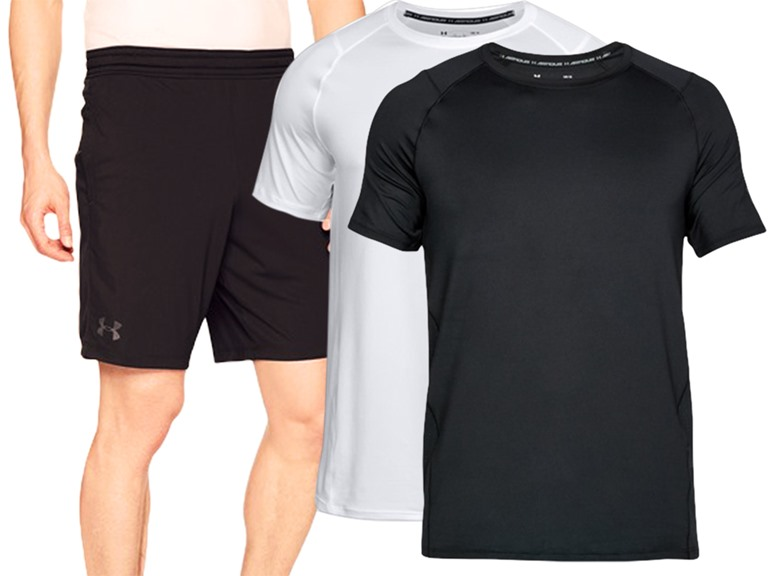 Under Armour Men's MK-1 Tees and Shorts