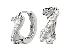 Sterling Silver Sim. Diamond Z Design