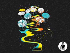 The Umbrellas LW Zip Hoodie