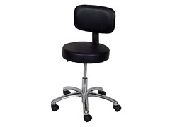 Ergo-Ease Lab Stool w/Back