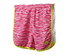 Girls Printed Primo Short - Pink Zebra