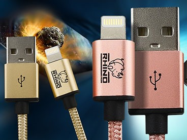 Rhino Lightning Cables (2 Meter 3 Pack)
