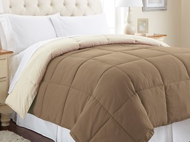Down Alt Reversible Comforters - 3 Sizes