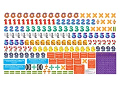 Peel, Play & Learn Multiplication Wall Play Set