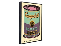 Campbell's Soup Can-Green/Purple 2 Sizes