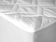 Lily Pads ~ Waterproof Mattress Pad with Fitted Skirt- Multiple Sizes