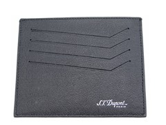 ST Dupont Leather ID/Card Holder, Black