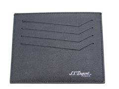 ST Dupont Leather ID/Card Holder, Black