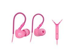 M6P In-Ear Sport Earbuds w/Mic - Pink