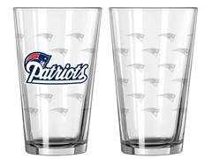 Patriots Pint Glass 2-Pack