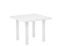 Euro Dining Table, White