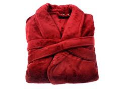 Boston Robe-Merlot-Small/Medium