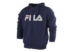 Fila Men's Fleece Hoody - Peacoat XXL EU