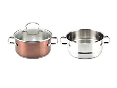 Kevin Dundon 3 QT Sauce Pot Copper