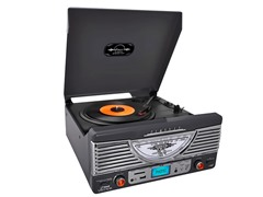 Retro Turntable with AUX/Radio/USB/SD/MP3