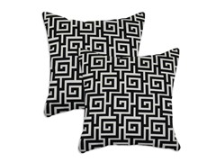 Oskar Terrace 17x17 Pillow - Set of 2