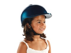 Blue Bicycle Helmet