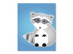 "11"" x 14"" Raccoon Print"