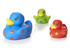 Light Up Ducks - Blue