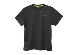 Fila Heathered Bright Tee - Black