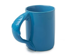 Blue Fish Handle Mug