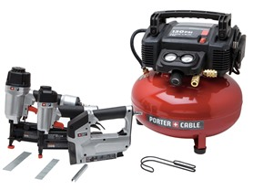 Porter-Cable Compressor/3-Tool Combo Kit