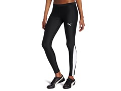Puma Women's TB Running Long Tight, Blk
