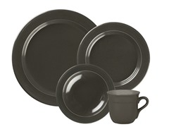 4 Piece Dinnerware Set - Slate