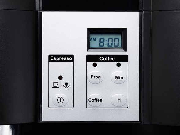 KRUPS 10-Cup Coffee/Espresso Combo Machine