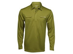 Ripper Long-Sleeve Polo - Alloy (L)