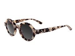 Retro-Focus Sunglasses, White Tortoise
