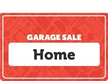 Home Garage Sale