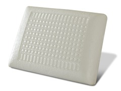 Cool Gel Top Memory Foam Pillow-Clear