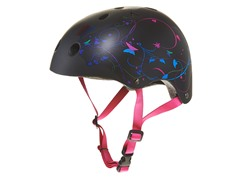Mongoose Black Filagree Hardshell Helmet (8+Yrs)