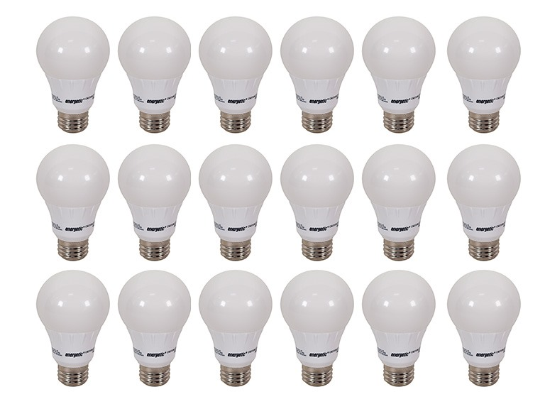 Energetic A19 LED Lightbulb 18 Pack