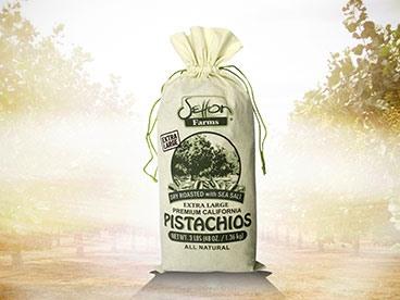 Setton Farms 3lbs Pistachios Burlap Bag