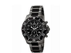 Men's Python Gun Metal Watch