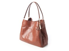 Coach Madison Small Phoebe Shoulder Bag, Brown