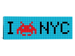 I Invade NYC Tile Art 36x12 Thin