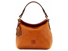 Florentine Twist Strap Hobo, Natural