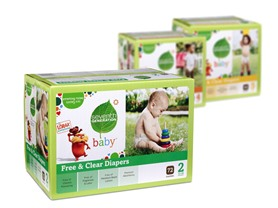 Seventh Generation Diapers (Stages 1-6)