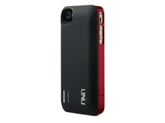 iPhone 4/4s Battery Case - Black/Red