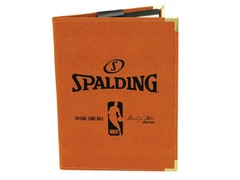 "Spalding NBA 5""x 7"" Padfolio - Orange"