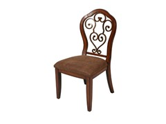 Carmel Side Chair- Cosmo Sepia and Dakota Toffee