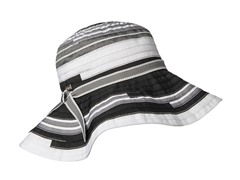 Narcissus Ribbon Sun Hat, Black