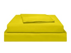 500TC PimaWF Sateen Sheet-Chartreuse-CalKing