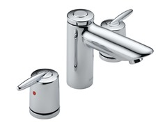Two Handle Widespread Faucet, Chrome