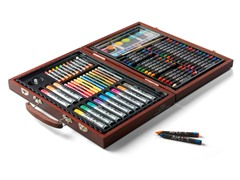 82-Piece Art Set in Wooden Case