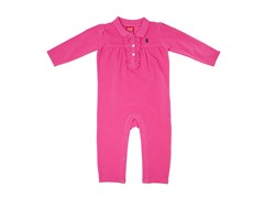 Hot Pink Coverall (3-6M)