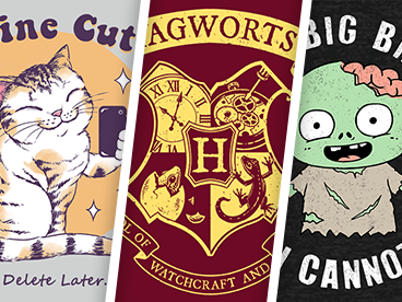 Friday's Awesome New Shirts!